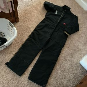 New Black Coverall